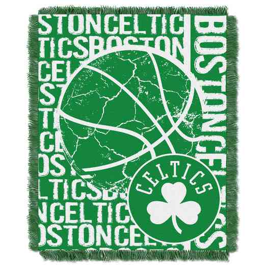 1NBA019040002RET: NBA  JACQUARD THROW, Celtics